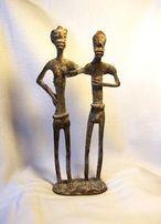 Figurki Dogonów , sztuka afrykańska , brąz