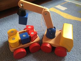 Zabawki drewniane dla dzieci