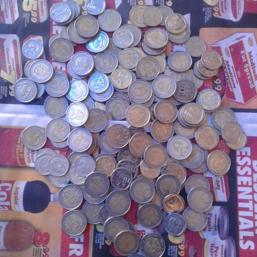 Mandela coins from 2004 up to 2009 0