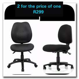 Office chairs (2 FOR THE PRICE OF ONE)