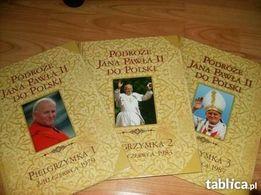 Podróże Jana Pawła II do Polski -pielgrzymki-3-tomy