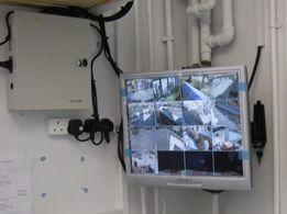 Установка видеонаблюдения, сигнализации, домофонов. Гарантия