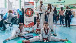 """Набір в секцію Тхеквондо (Taekwondo) (ВТФ) СК """"Спіннер"""""""