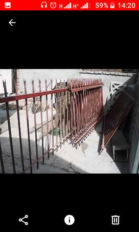 Pallisade Fencing 1.5m high. 20m long. For sale R2500