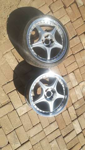 Rims for sale or swop for 2 5/120 pcd rims