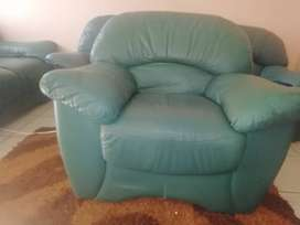 Beautiful green couches for sale
