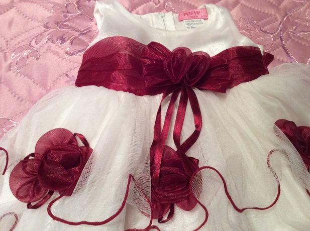 Продам шикарное платье на принцессу 6-12 месяцев Лелюки - изображение 3