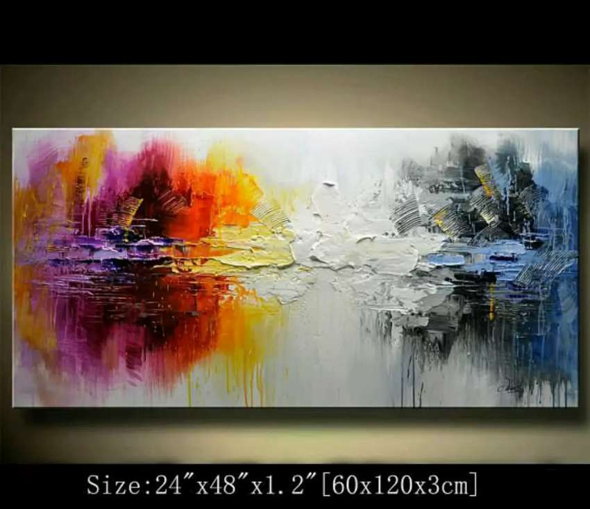 Abstract big sized paintings 0