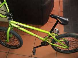 It is a BMX oryx limited edition and it is 2 years old...