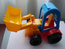 Детский трактор экскаватор мини.