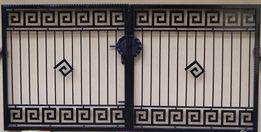 Brama wjazdowa Kuta Wzór grecki nr 3 Promocja