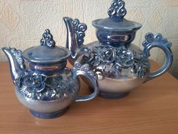 Продам набор чайников фарфоровых с декором