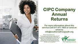 Get your CIPC company annual returns with us