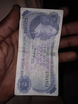 Two rand note