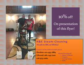 We Steam Clean Anything!