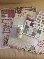 Скрапбумага Vintage Christmas my mind eye MME бумага для скрапбукинга