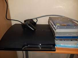 PS3 with game for sale
