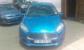 2016 Blue Ford Fiesta 1.0 Ecoboost Auto for sale