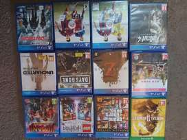 Ps4 games and xbox game one game