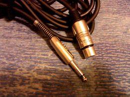 Шнур кабель Proel разъемы TS-XLR (Cannon)