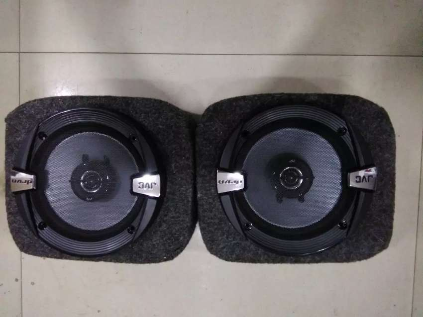 JVC car door speakers CS-DR162 cabinet 0