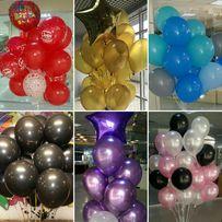Гелиевые воздушные шары доставка фольгированые гелевые шарики геливые