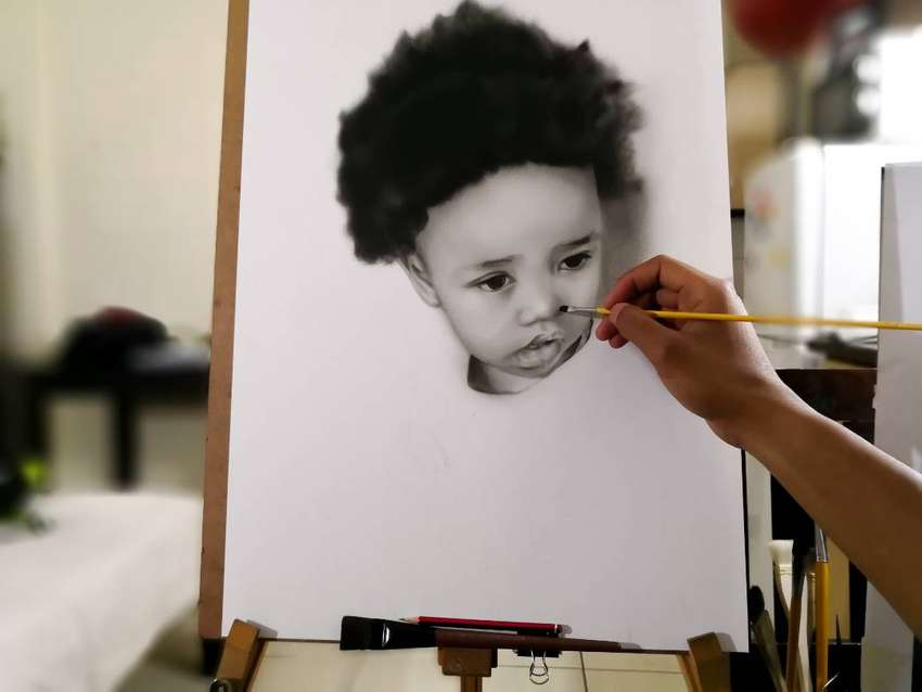 Drawings from photos - R600 0