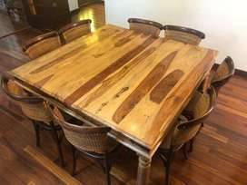 Coricraft Raju Dining Table + Chairs