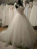 Новое Свадебное платье пошив под заказ любого размера.