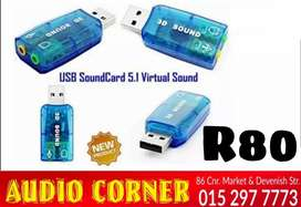Sound Card For Pc NEW R80