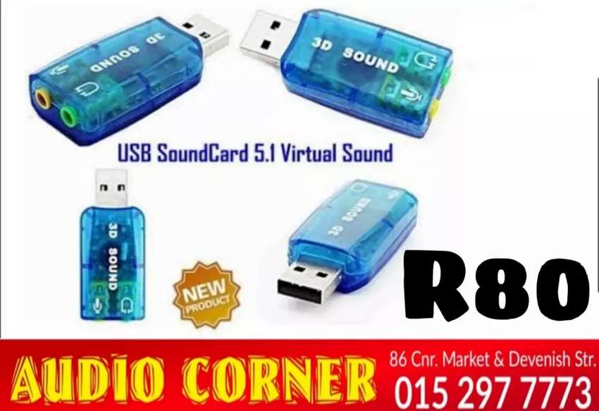 Sound Card For Pc NEW R80 0