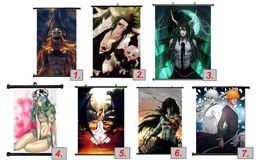 Plakat wall scroll anime Bleach Ichigo Nel Kenpachi Ulquiorra Orihime