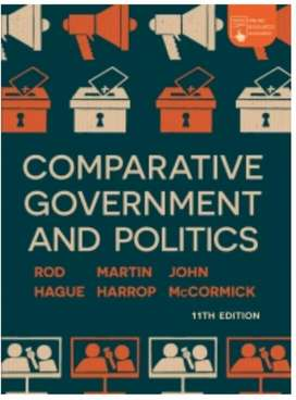 Textbook : Comparative Government and Politics : An Introduction