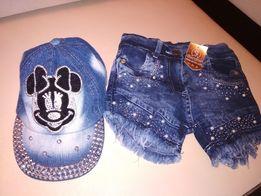 шорты джинс + кепка