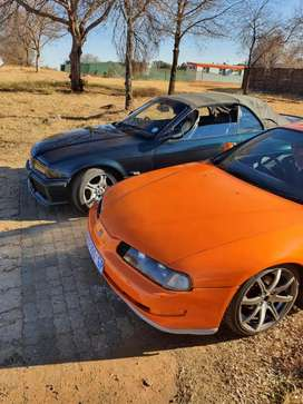 2 cars to swop for a bakkie or forsale