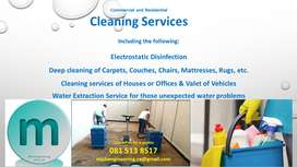Sanitising/Disinfecting and Deep Cleaning Service