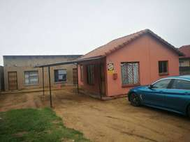 two bedroom house for rental at 94 caledone, norkem park for R5500