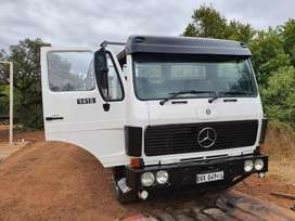 Mercedes 8 ton truck with cattle rails