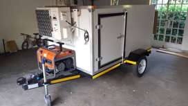 Cold room,freezer trailer for hire