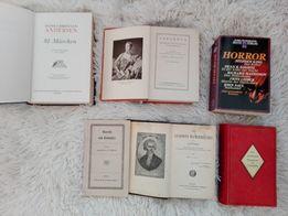 Książki po niemiecku i jedna po francusku - literatura piękna