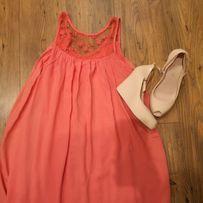 Sukienka letnia piękny kolor Uni