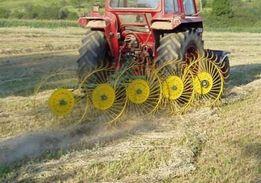 Гребка грабли-ворошилки 4, 5 колес трактор МТЗ,ЮМЗ. Польша. Доставка.