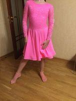 Продам платье для бальных танцев Бейсик, Бейзик, 130-140