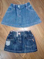 Spódnica jeansowa next, adams kids r.68, bdb stan