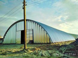 Арочные ангары. Напольные зернохранилища. Склады. Навесы
