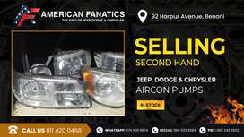 Second Hand Jeep, Dodge & Chrysler Aircon Pumps for sale!