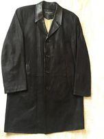 Кожаное пальто мужское Koranso