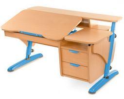 Детская парта, письменный стол Pondi Эргономик с тумбой NEW
