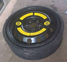 Porsche Cayenne space saver spare wheel and tyre9
