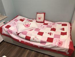 Patchwork narzuta przykrycie na łóżko Princess dla dziewczynki